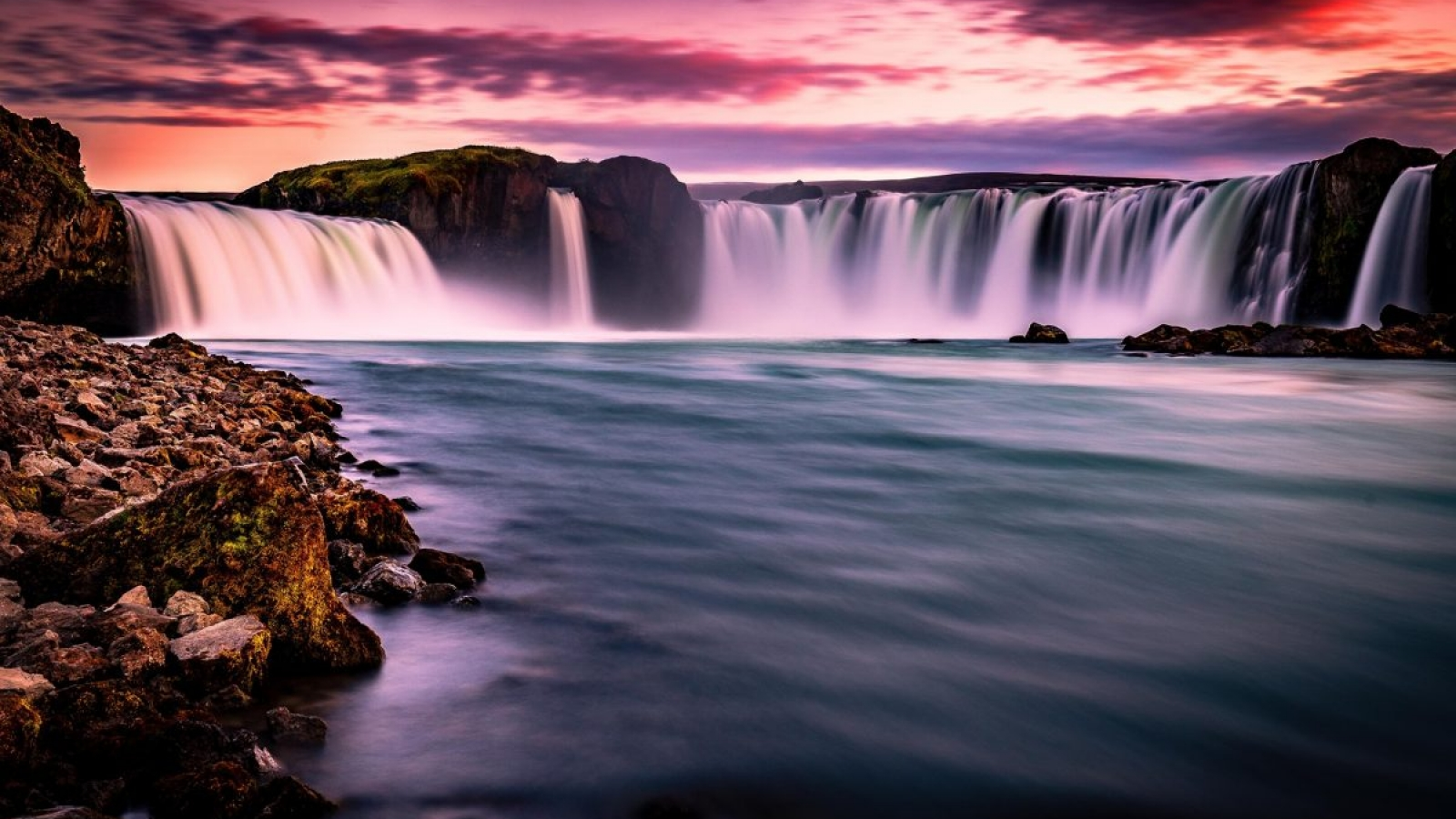 When is the best time to visit Iceland - Godafoss